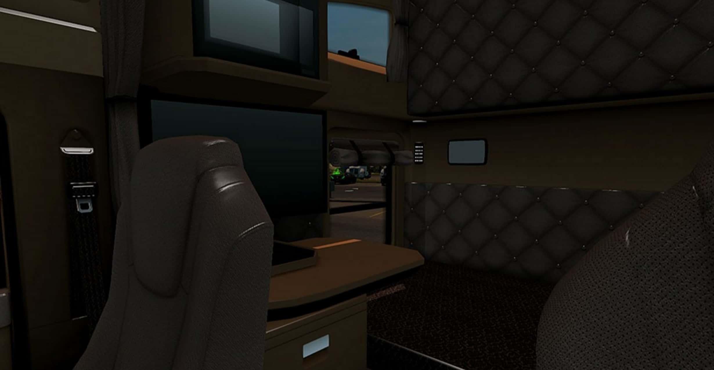 T680 Kenworth Interior