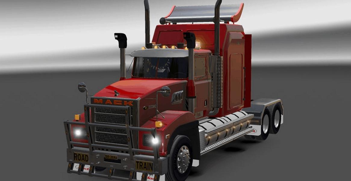 Mack Titan Truck American Truck Simulator Mod ATS Mod