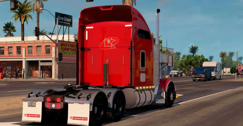 Kenworth T800 V 1 2 Truck American Truck Simulator Mod