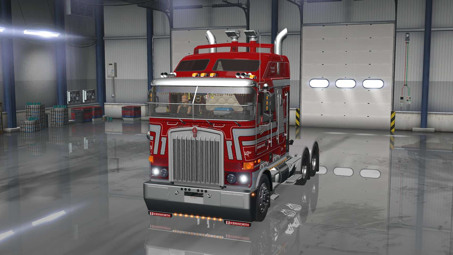 UPDATE KENWORTH K200 V13 Truck American Truck Simulator