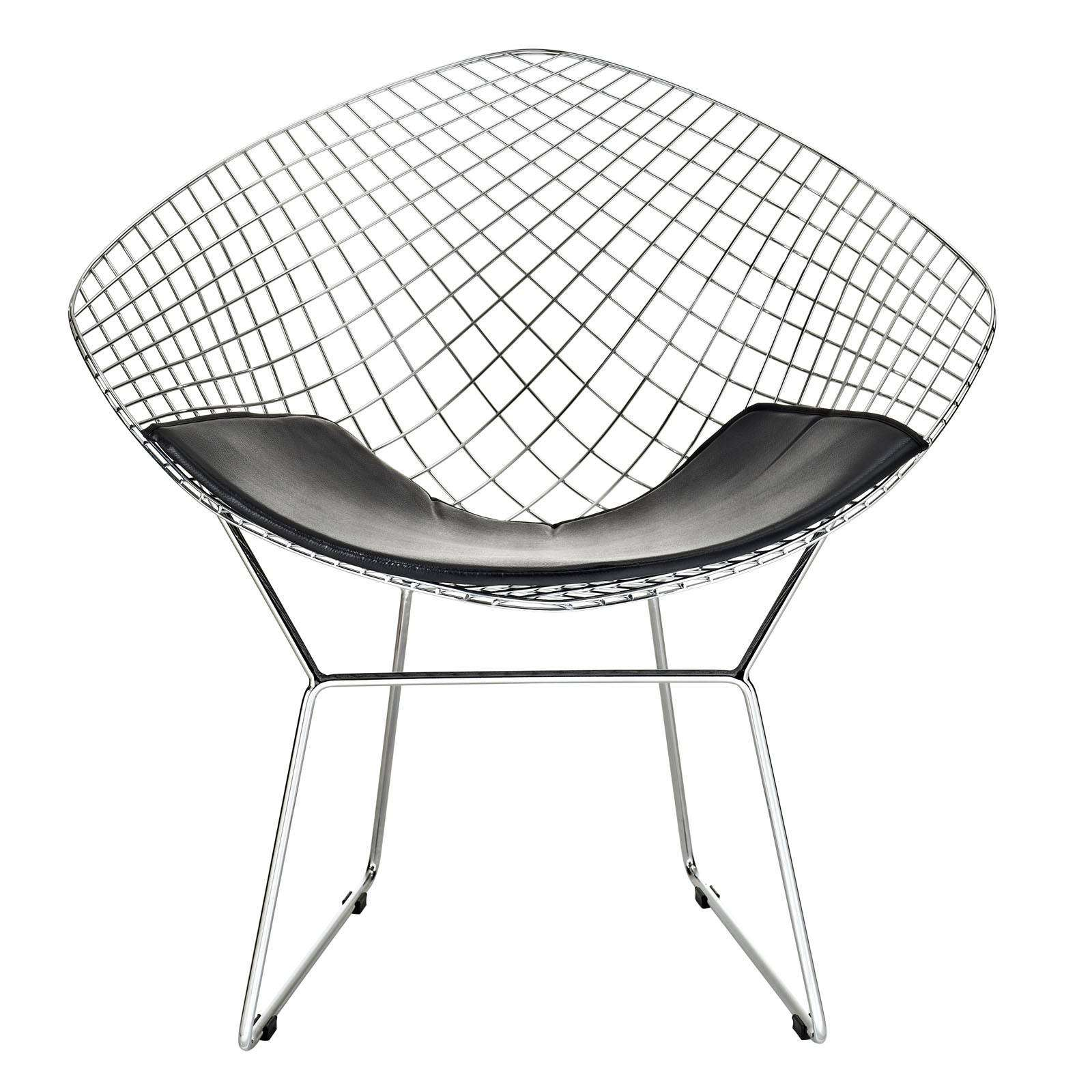 Bertoia Style Diamond Wire Chair