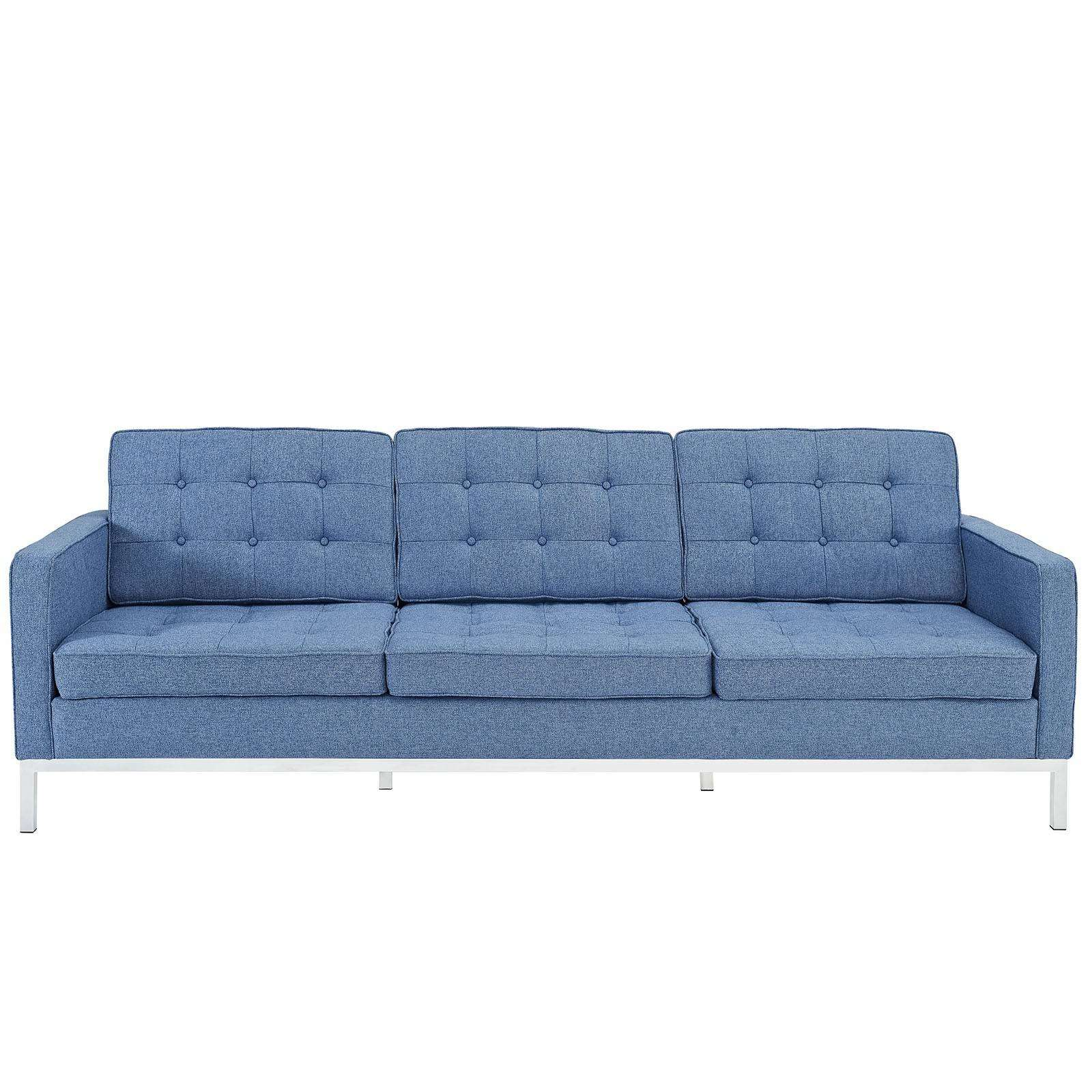 Florence Knoll Style Sofa Couch