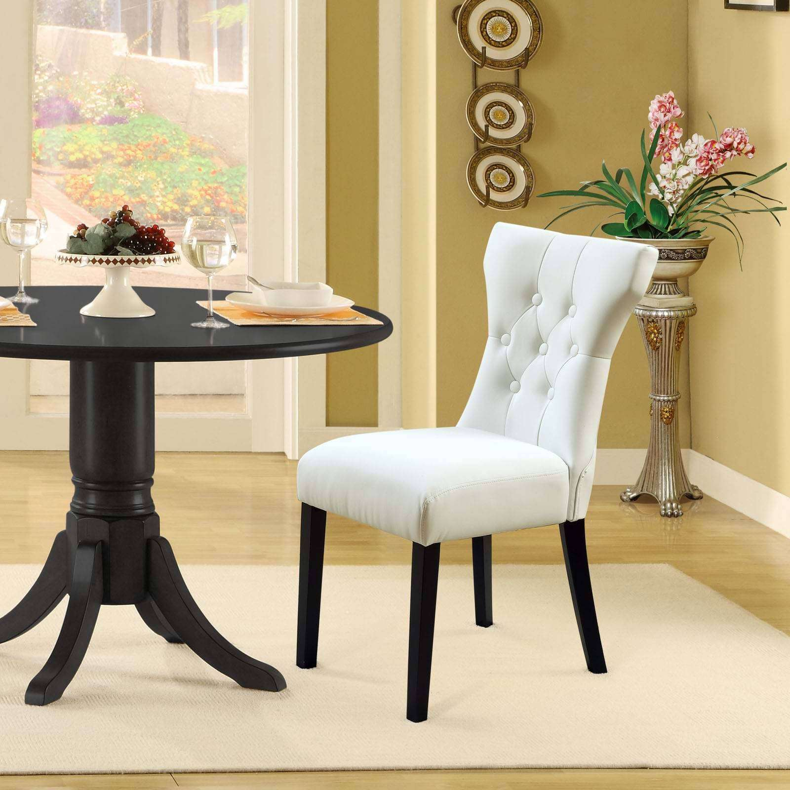 Our rattan lounge set is a real talking piece, too. Modterior :: Dining Room :: Dining Sets :: Silhouette
