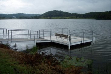 Dane County Fishing Dock