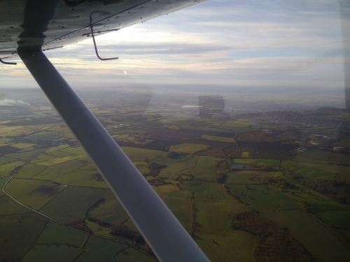 Hour Building: Local flight from RAF Henlow