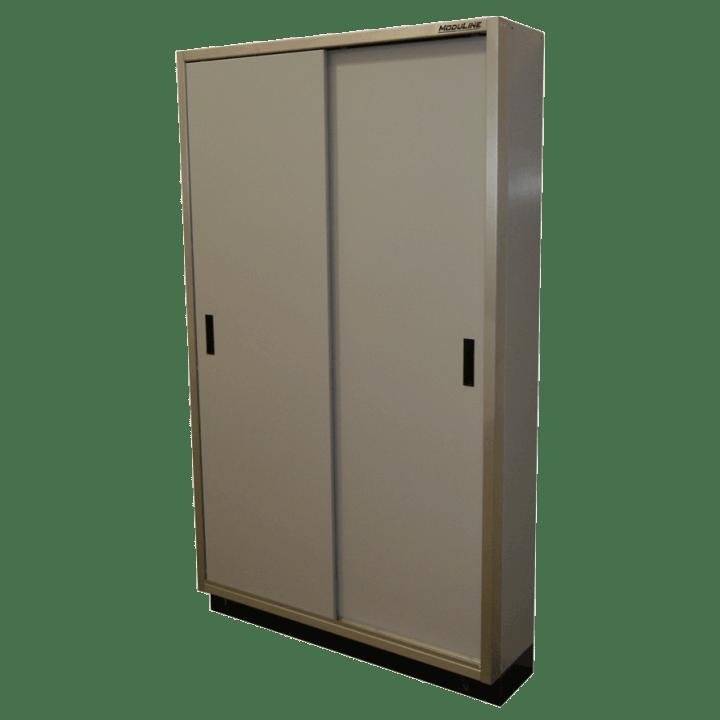 Aluminum Garage Sliding Door Cabinet Storage