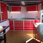 How To Add Storage To Your Enclosed V Nose Trailer