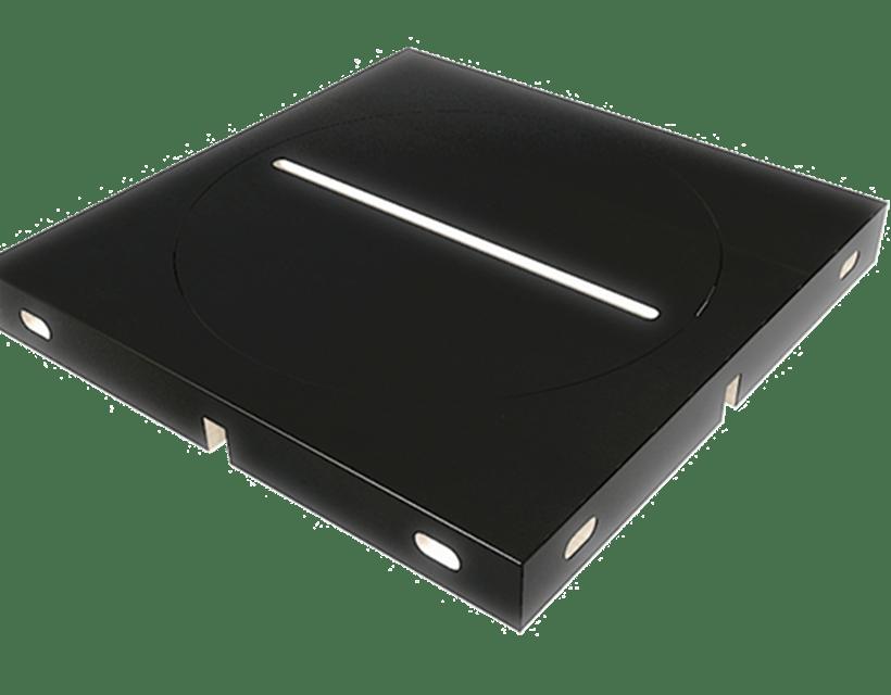 Rotacijski modul za odlaganje telefona ili tableta kao opcionalni dodatak modularnom stolu Modulos