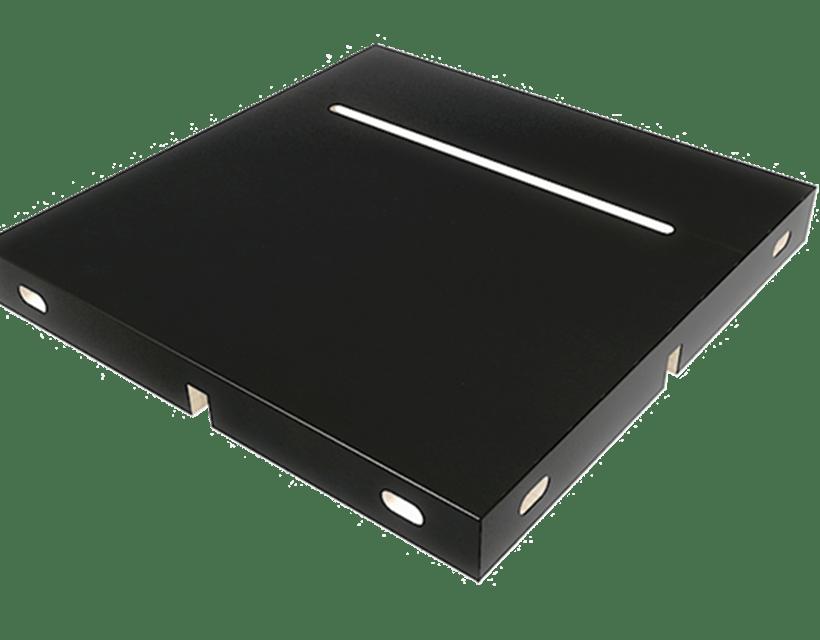 Modul za odlaganje telefona ili tableta kao opcionalni dodatak modularnom stolu Modulos