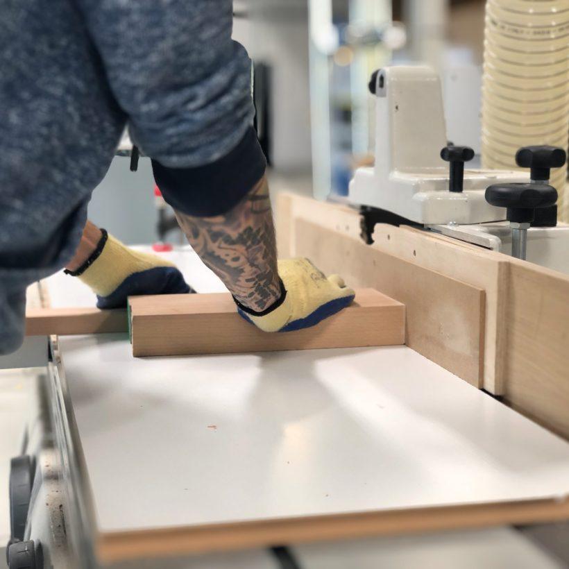 Izrada Modulara - modularnog radnog stola u proizvodnom pogonu