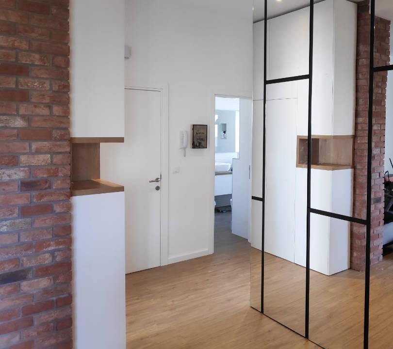Namještaj po mjeri u ulaznom hodniku  dizajn 4Uha  izrada Modulos