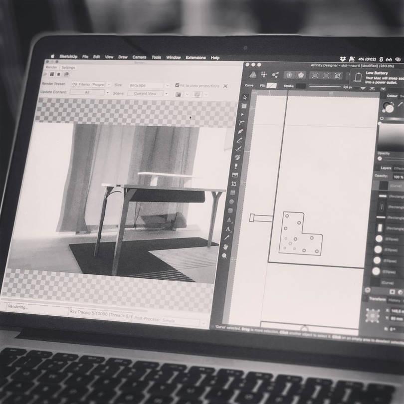 Dizajn i 3D renderiranje namještaja na računalu