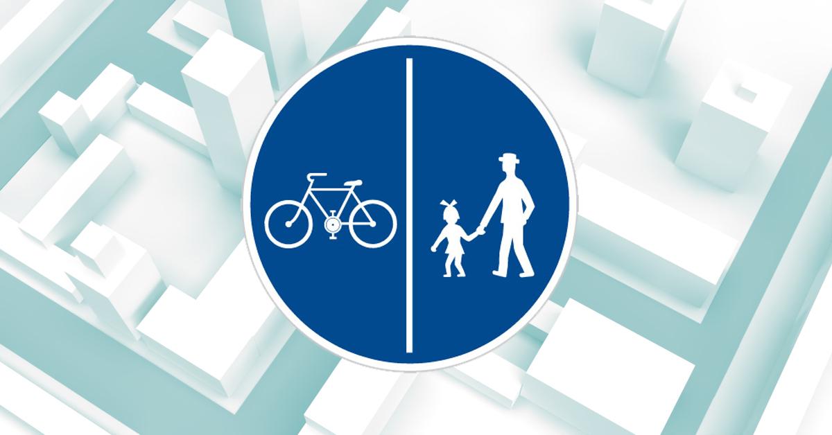 Stezky pro cyklisty ilustrační obrázek