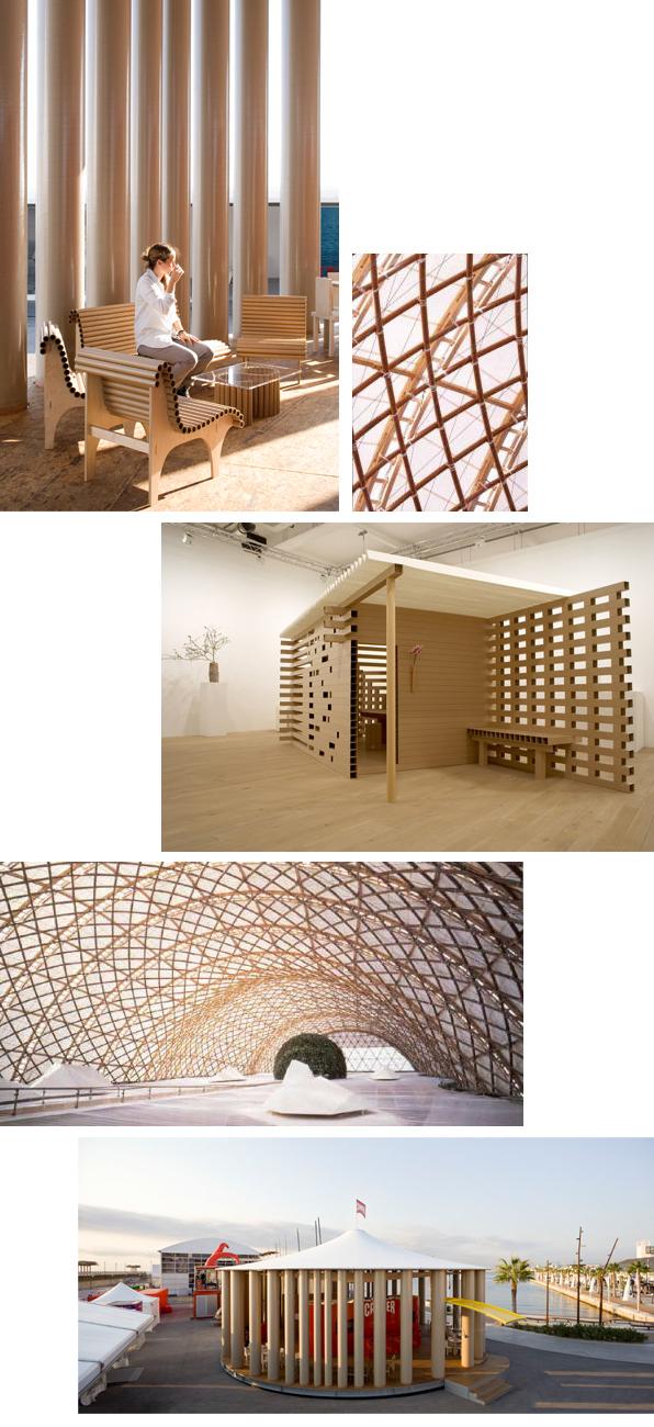 arquitectura papel y carton de shigeru ban