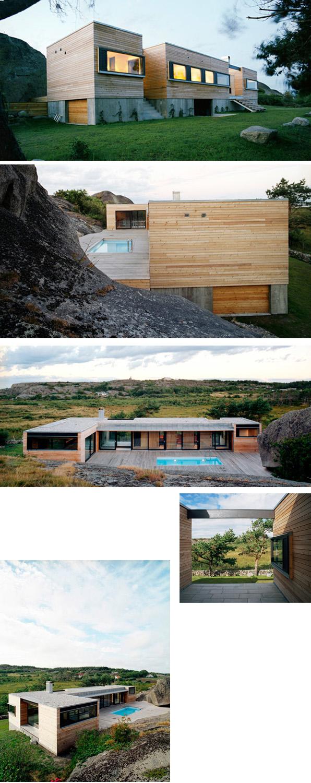 architect casa patio modus vivendi architecture arquitectura madera arquitectos prefabricada modular