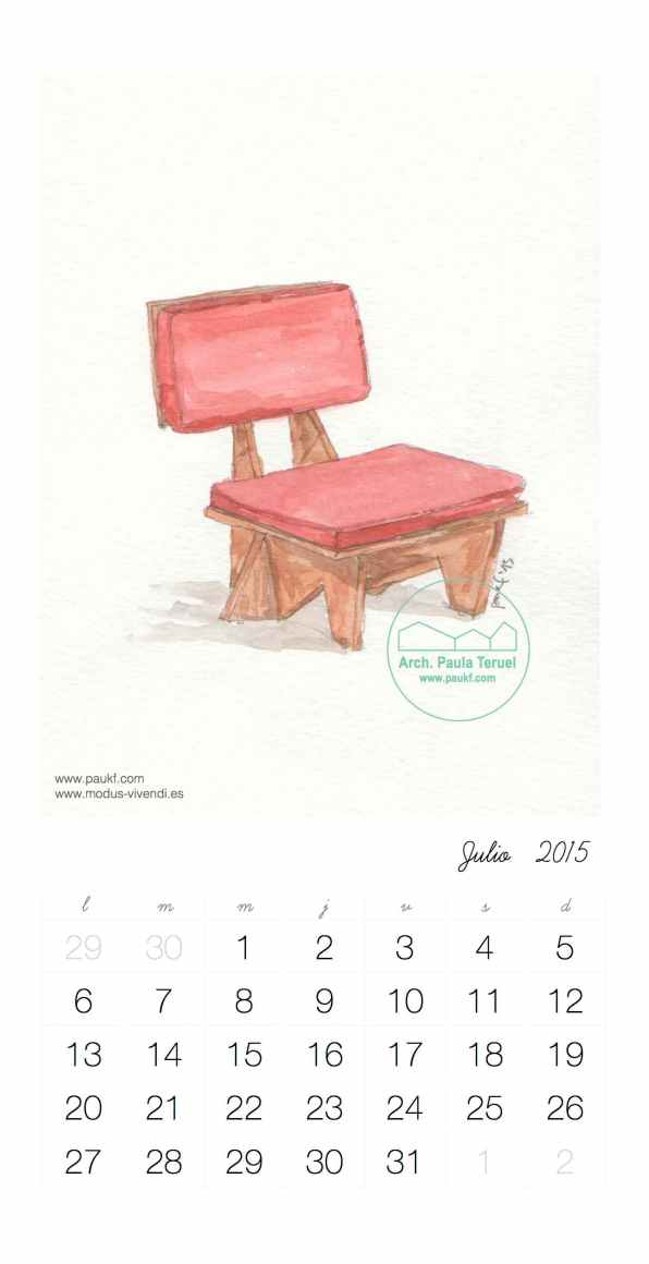 usonian houses watercolor chair frank lloyd wright modus vivendi arquitectos arquitectura architects architecture