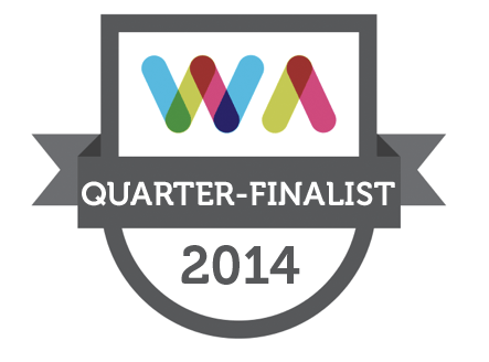 Irish Web Awards 2014 Quarter Finalist