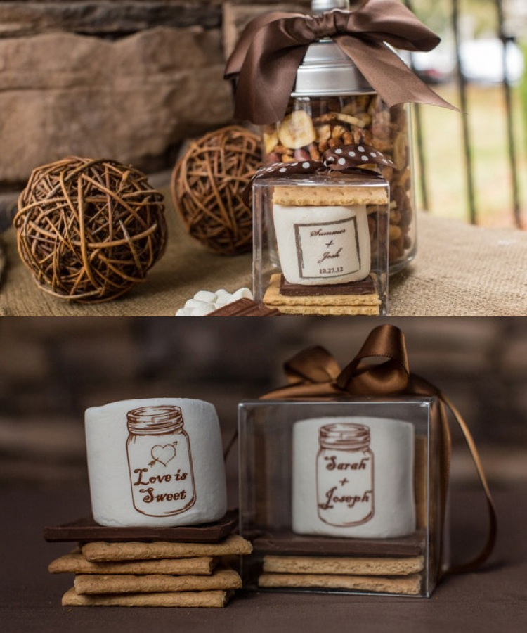 Personalized Wedding Favors Ideas