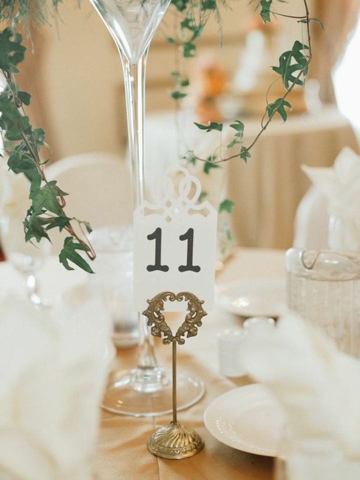 Chic Old School Inspired Florida Wedding Captured By