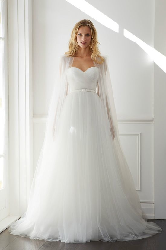 21 Ultra Romantic Tulle Wedding Dresses MODwedding