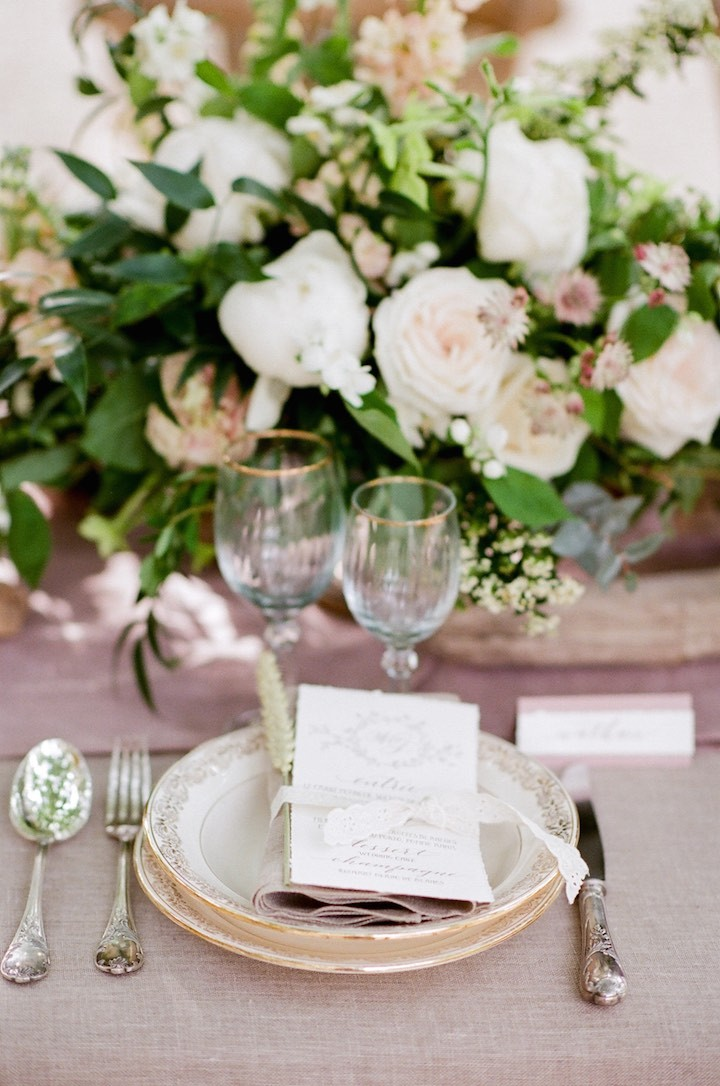 La Vie En Rose French Wedding Inspiration MODwedding