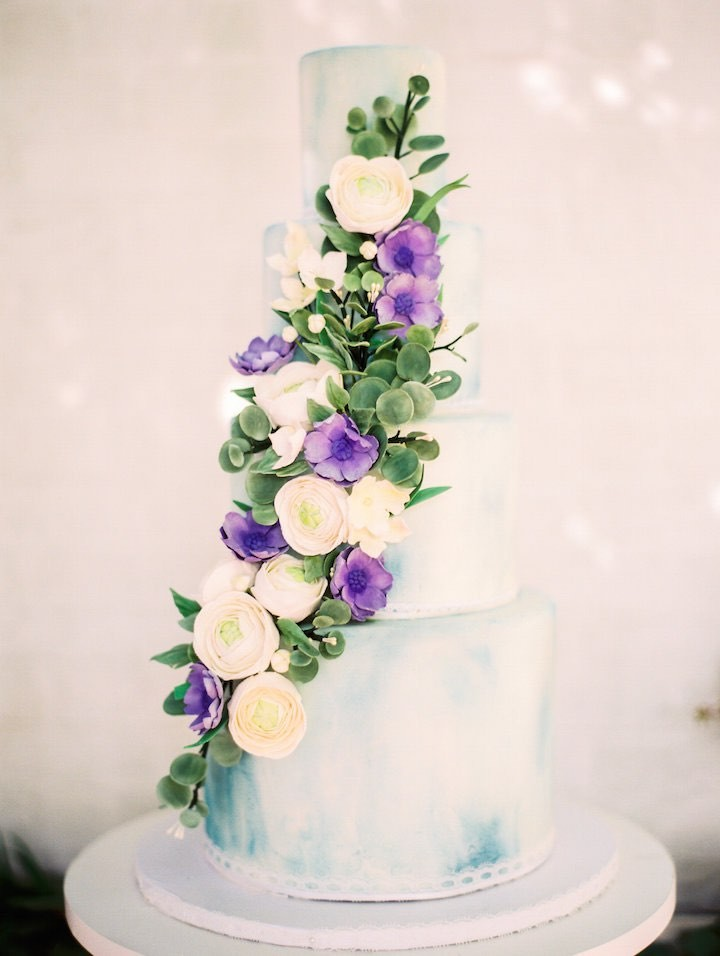 Dusty Blue And Lavender French Wedding Inspired Shoot