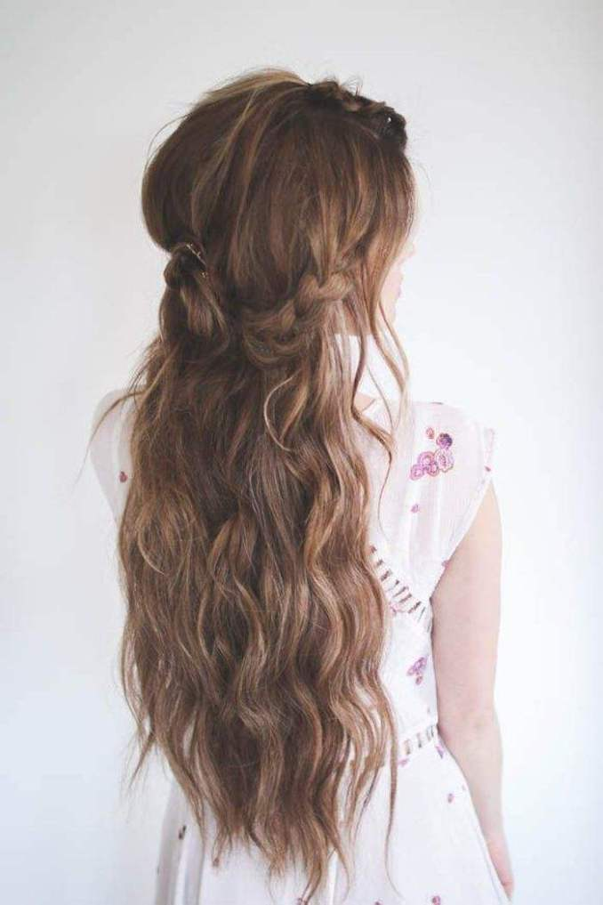 Image Result For Bridal Hairstyles Long Hair Half Up