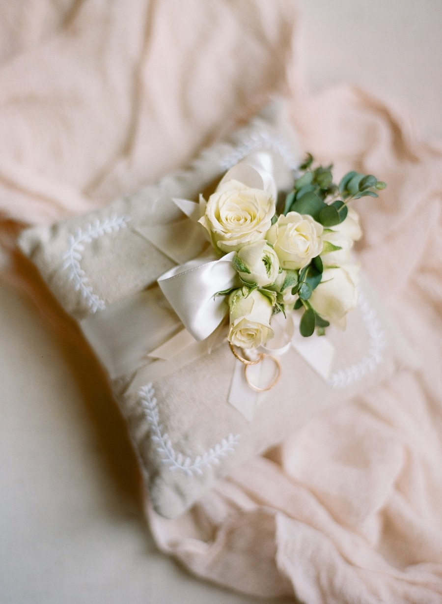 Glamorous Los Angeles Ballroom Wedding With Pink And White