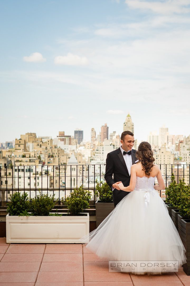 The Most Romantic New York City Wedding Ever MODwedding
