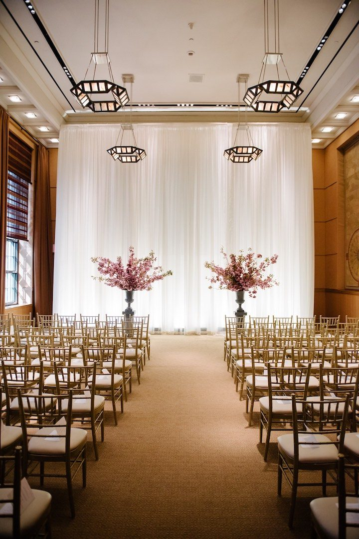 Elegant New York Wedding At The Four Seasons MODwedding