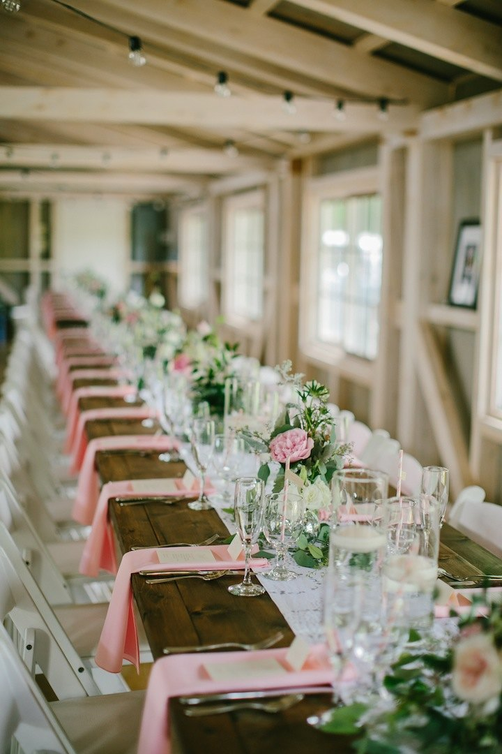 Maine Wedding Filled With Charming Decor Modwedding