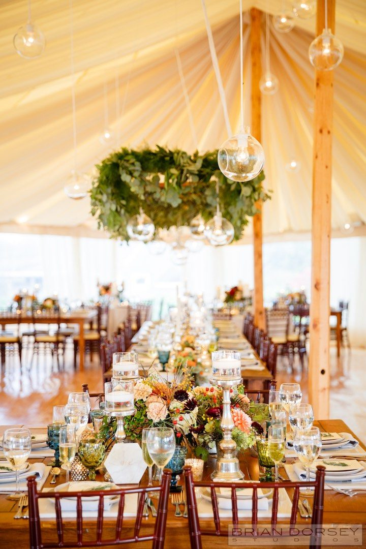 Rustic Rhode Island Wedding With Warm Fall Colors Modwedding