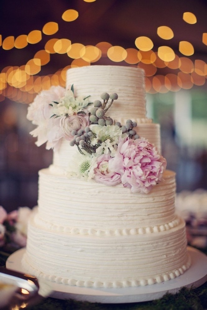 Simple Wedding Cake Ideas Pictures