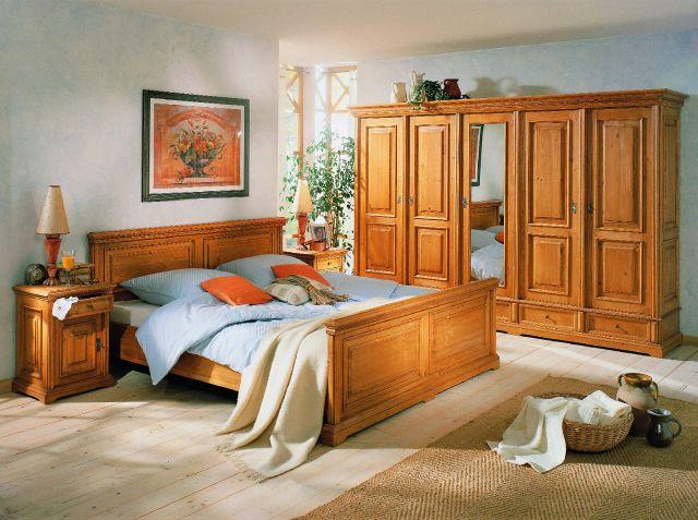 fichte massiv besonders schones und hochwertig verarbeitetes schlafzimmerprogramm im klassischen landhausstil