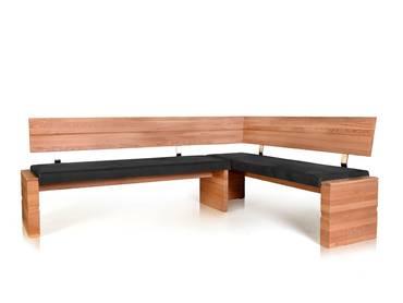 varianten wood eckbank mit massivholzgestell
