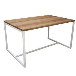 Industriedesign Möbel - Industrial Chic Esstisch aus Massivholz