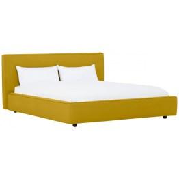 Ecken und Kanten müssen Sie bei Bett Nata lange suchen. Das Brett am Kopfende ist angenehm weich gepolstert – ideal zum Lesen