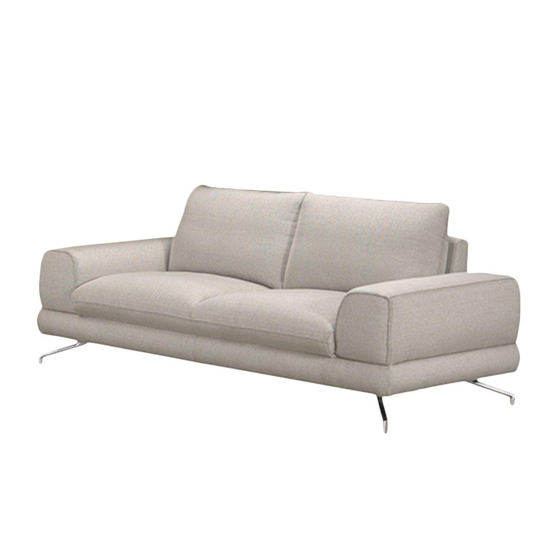 sofa lennard 3 sitzer strukturstoff mit kopfst tze. Black Bedroom Furniture Sets. Home Design Ideas
