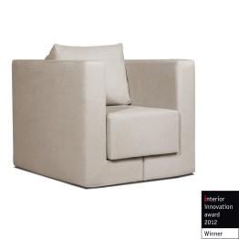Sessel Mago I in Beige ist ein ganz besonders vielseitiges Sitzmöbel