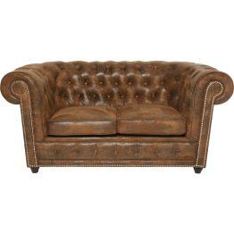 Sofa: Elegantes Sofa mit Vintage Flair Feines Sofa im klassisch