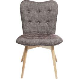 Stuhl: Retro seating Die Sitzmöbel der Serie Angels Wings bestechen von jeher durch ihre eigenwillige Gestaltung und ihrer Retro inspirierten Form. Markant und kurvenreich gestaltet setzten sie Maßstäbe in Design und moderner Ästhetik. Dieser Stuhl ist ein gelungenes Bespiel dafür. Sitzfläche und Rückenlehne sind weich gepolstert und gehen fließend ineinander über. Der Bezugsstoff ist nicht nur unendlich weich