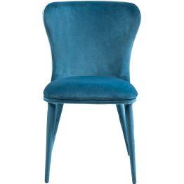 Stuhl: Maritimer Chic MFeiner Polsterstuhl aus der Serie Santorini. Komplett bezogen mit einem weichen