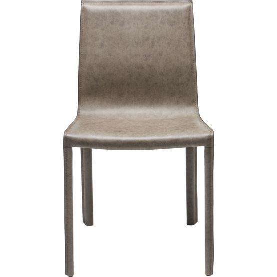 Lässig-eleganter Stuhl aus der Reihe Fino. Passt in nahezu jedes Ambiente. Bezug: Lederfaserstoff. Beine: Stahl pulverbeschichtet. Polsterung: Polyesterschaum. Sitzhöhe: 45cm. Max. Belastung: 110 kg. Auch als Barhocker.