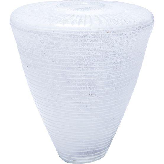 Vase Melone weiß 25cm
