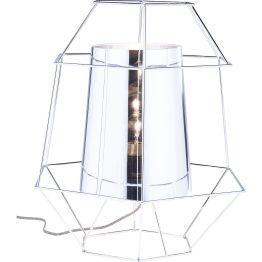 Lampe: Schmuckstück aus Licht Die Tischlampe Wire ist Lichtquelle und Kunstobjekt in einem. Form und Gestaltung verkörpern moderne Extravaganz. Wire ist eine moderne und raffiniert gestaltete Komposition