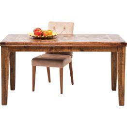 Esstisch:Wunderschöner Holztisch mit Intarsien Der Duft von altem