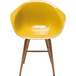 Stuhl: Evergreen In Zusammenarbeit mit dem renommierten Designbüro Weber erschufen wir diesen formschönen Schalenstuhl und gaben den legendären Schalenstühlen von einst ein stromlinienförmigeres