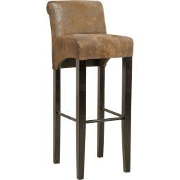 Barhocker: Hochsitz mit Komfort Ein Möbel der antik ästhetischen Art mit besonders hohem Sitzkomfort. Für einen Barhocker hat der Chiara Vintage erstaunlich bequeme Qualitäten