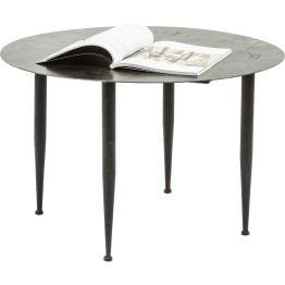 Beistelltisch: Dieser charmante Beistelltisch besticht mit originellem Vintage-Flair. Die aufwendig gestaltete und hochdekorative Tischplatte macht den besonderen Reiz dieses Tisches aus. In weiteren Ausführungen erhältlich.