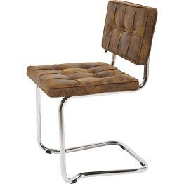 Freischwinger: Klassischer Designer Stuhl im Vintage Look Der Freischwinger Expo